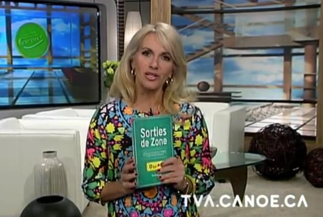 Le réseau TVA et Christine Michaud consacrent une émission complète à mon livre et à son sujet!