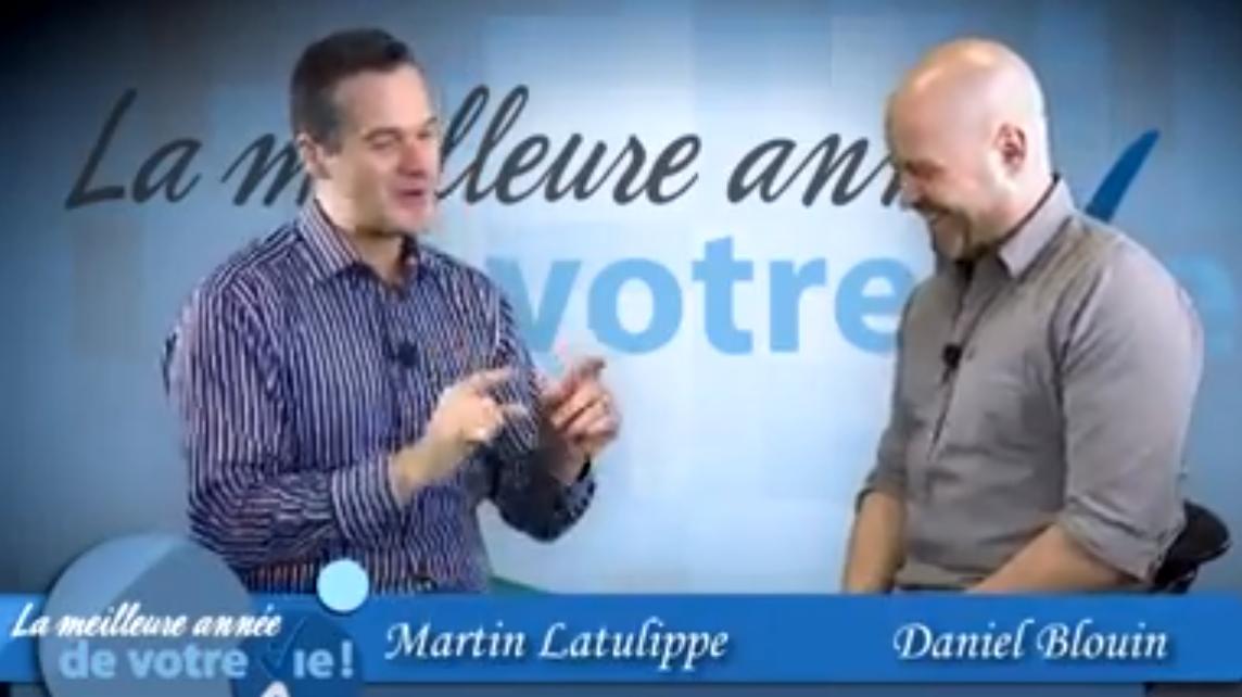 Entrevue vidéo avec Martin Latulippe, un conférencier qui parcourt l'Europe et l'Amérique du Nord
