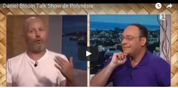 La télé nationale de Polynésie a produit une émission complète sur Sorties de Zone